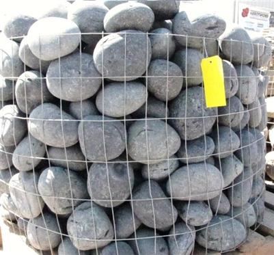 Black Mexican Beach Pebbles 3 Quot 5 Quot Quarry Fast Shipping